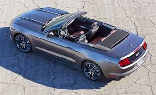 Ford Mustang Convertible 2018 Ford Mustang Convertible Look More Character
