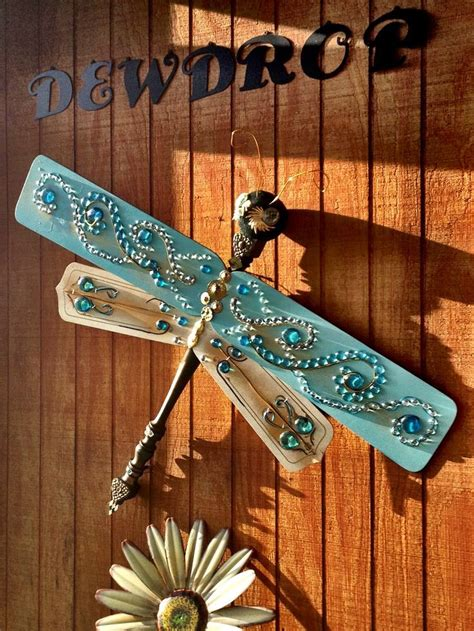ceiling fan blade craft ideas ornamental dragonfly for the garden this is beautiful