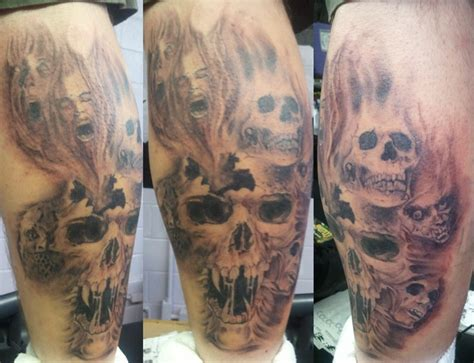 ghost tattoo horror zombies skulls ghosts arthur