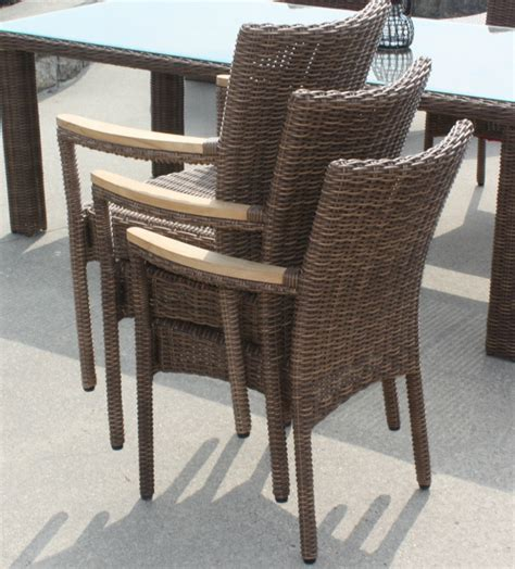 Wicker Outdoor Dining Chairs with Outdoor Wicker Dining Chair Santa Barbara
