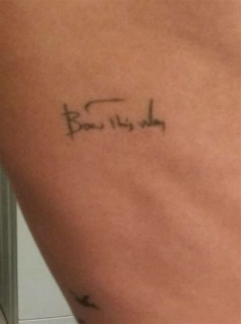 born this way tattoo born this way tattoos born this way