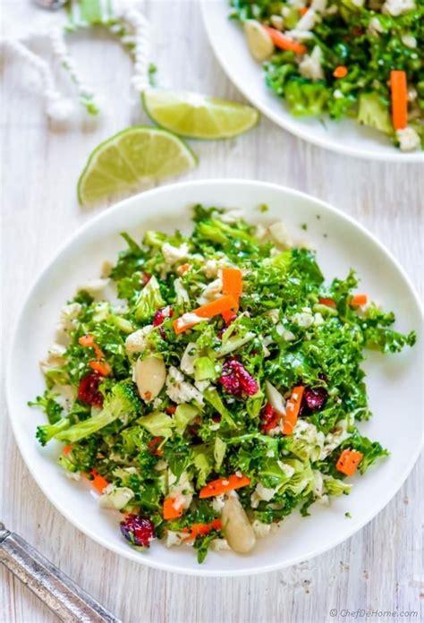 Sugar Detox Salad Dressings by Cauliflower And Broccoli Detox Salad Recipe Kale