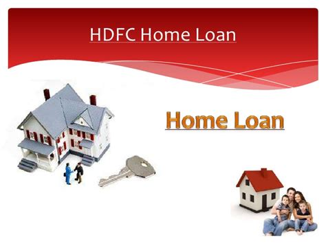 hdfc housing loans home loan india