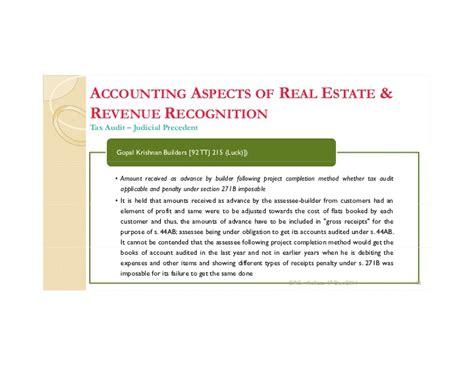 section 271b kolkata taxation of real estate development 17 dec 2011