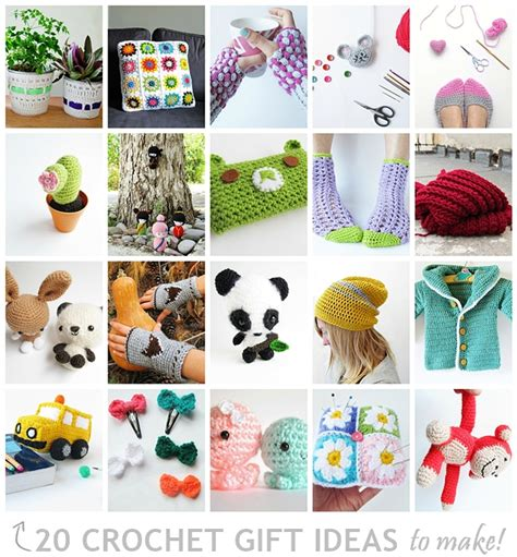 20 crochet gift ideas to make little things blogged