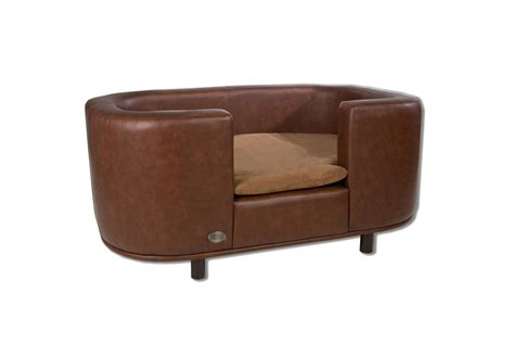 leather dog beds chester wells hton leather dog bed black chestnut