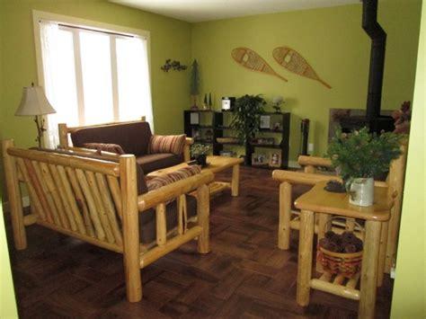 rustic log living room furniture rustic log living room furniture higher ground log