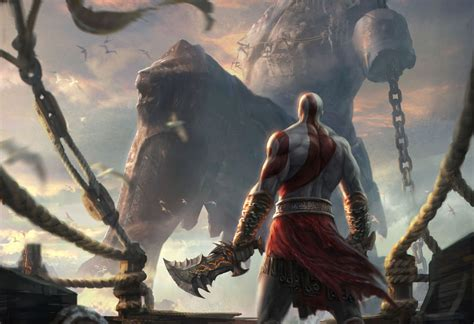 jaffe says god of war movie still real quot looking strong god of war art gallery polygon