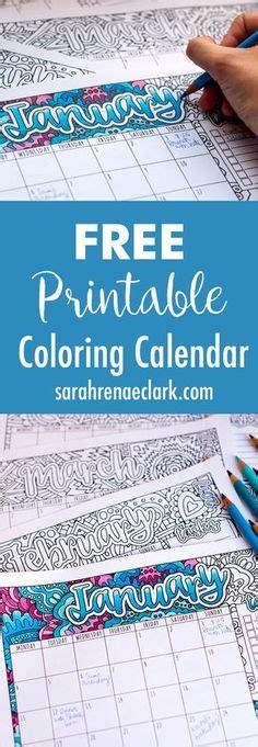 doodle calendar tutorial january 2018 coloring page calender planner doodle