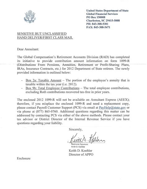 request letter for bank clearance overclassification at the state department