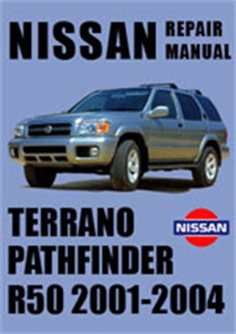 Nissan Pathfinder R50 Repair Manuals