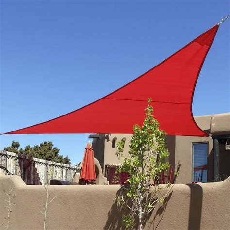sail canopy awning quictent 12 16 5 18 20 triangle sun shade sail outdoor