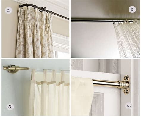 how to hang a curtain rod doors designs