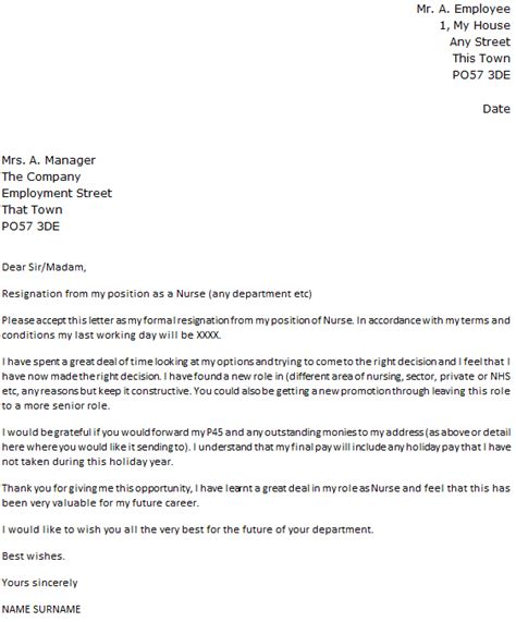 6 Resignation Letter Templates Uk Malawi Research Letter Templates Uk