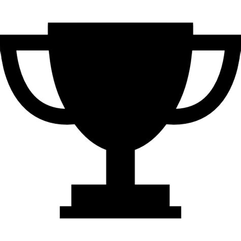cup silhouette png trophy cup silhouette free shapes icons