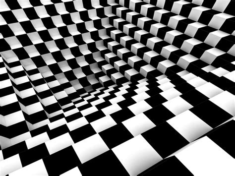 effect of pattern in photography wall mural wallpaper chess pattern 3d effect photo 360 cm
