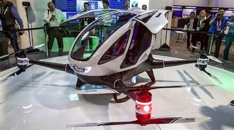 Drone Ehang ehang 184 passenger drone demo flights soon on sale