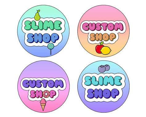 Slime Logo Slime Logo Stickers Logos For Slime Slime Slime Logo Template