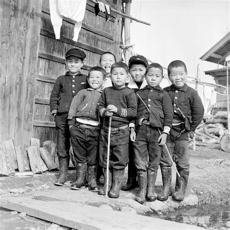 20 fascinating black and white 20 fascinating black and white photographs portray images of japanese children after world war