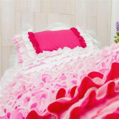 red ruffle comforter ruffle bedding set