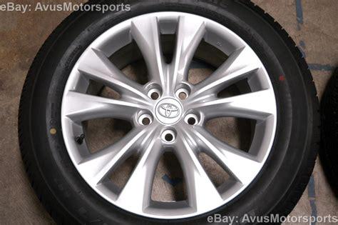 Toyota Rav4 Wheels New 2014 Toyota Rav4 Oem 18 Quot Factory Wheels Tires Tacoma