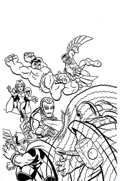 marvel super hero squad az coloring pages az coloring pages