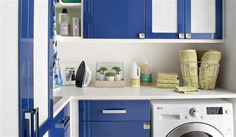 blue cabinets giggles and laundry blue lacquer laundry room cabinets contemporary