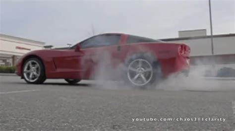 corvette burnout bad not your everyday c6 corvette burnout corvette