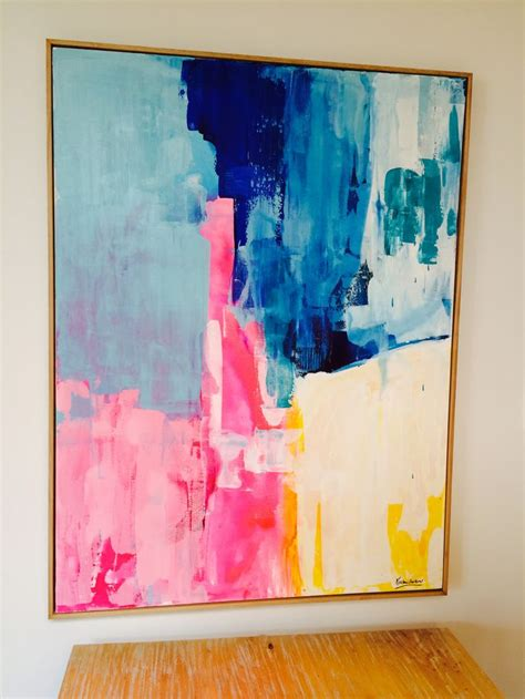 acrylic paint diy wall 25 best ideas about bright abstract on