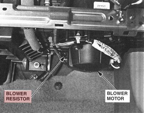 blower motor resistor troubleshooting blower motor resistor troubleshooting 28 images part 1 how to test the blower motor resistor