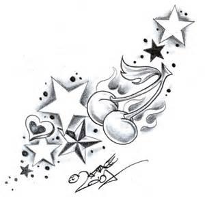 stars and swirls tattoo designs cliparts co