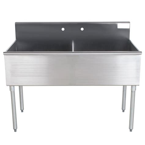 Stainless Steel Commercial Sinks by Advance Tabco 4 42 48 Two Compartment Stainless Steel