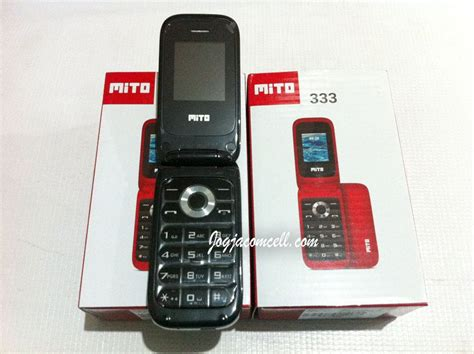 Mito 333 Flip 1 7 Dual Gsm mito 333 flip phone jogjacomcell toko gadget