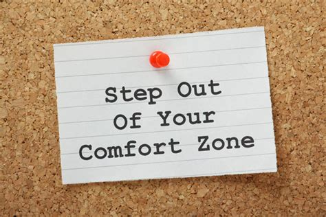 stepping out of my comfort zone your check up from the neck up workplace issues