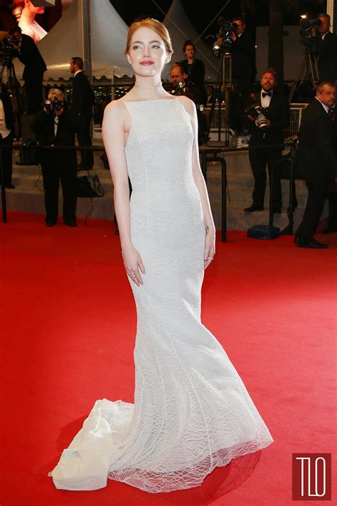 emma stone film cannes 2015 emma stone in christian dior couture tom