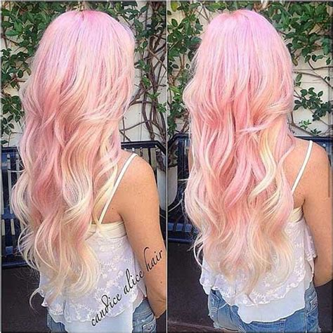 haircuts for colored pink hair 30 pink blonde hair color hairstyles haircuts 2016 2017