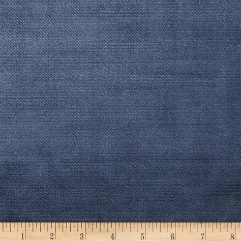 Discount Velvet Upholstery Fabric by Smith 02633 Upholstery Velvet Indigo Discount