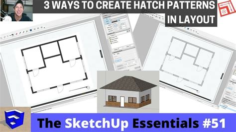 layout sketchup hatch creating hatching in layout from your sketchup model the