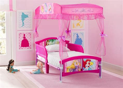 Princess Canopy Beds by Princess Toddler Canopy Bed Delta Children