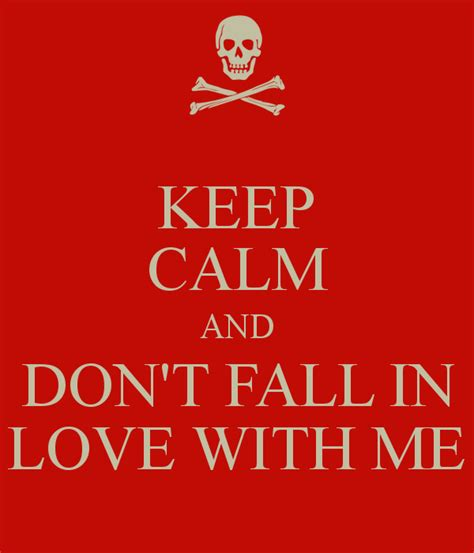 dramafire fall in love with me keep calm and don t fall in love with me poster jbrandon