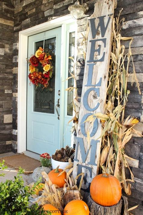 fall decorations for outside the home best 25 fall front doors ideas on pinterest fall front
