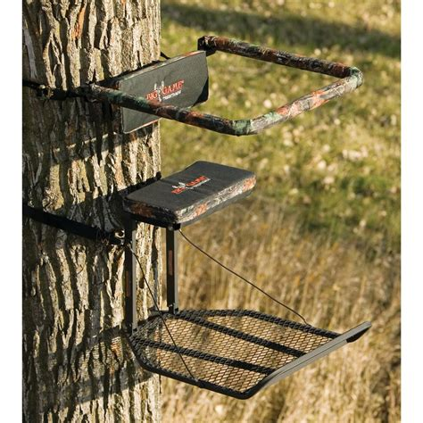 Lock On Deer Stand by The Boss Xl Hang On Tree Stand From Big Game