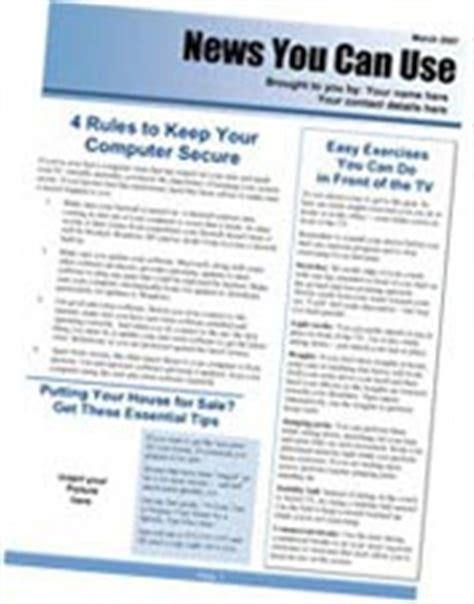 Insurance Newsletters Insurance Newsletters