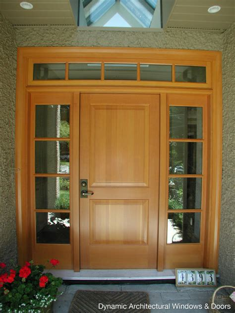 Douglas Fir Exterior Doors Traditional Douglas Fir Entry Door Traditional Front Doors Vancouver By Dynamic