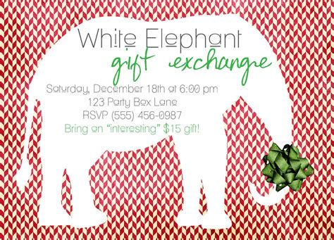 christmas themes for white elephant white elephant christmas party invitations disneyforever