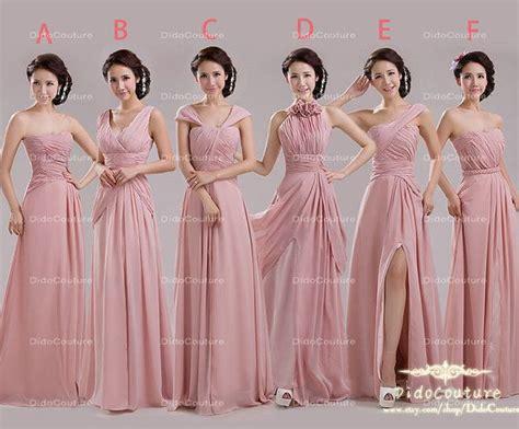 blush bridesmaid dress cheap bridesmaid dress long
