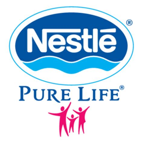 email format nestle nestle pure life logo vector logo of nestle pure life