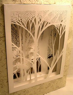 How To Make Paper Cutting - paper cutting green chair press