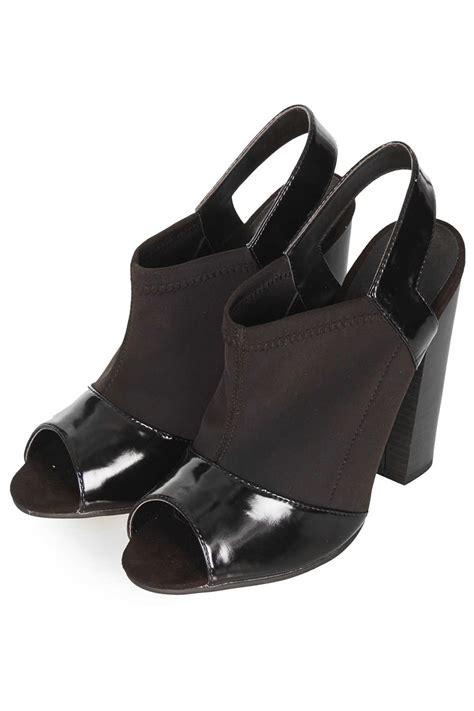 Heel Black Kezia Termurah 05 lyst topshop racy neoprene heels in black