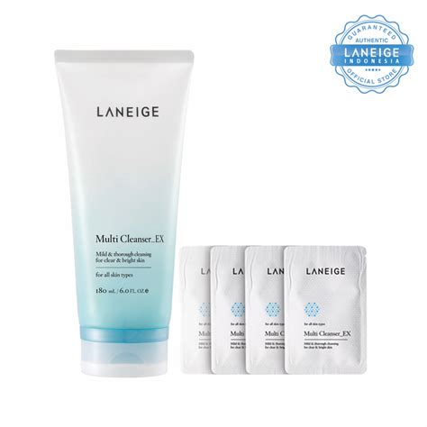 Laneige Multi Cleanser laneige multi cleanser ex 180ml free gift multi cleanser